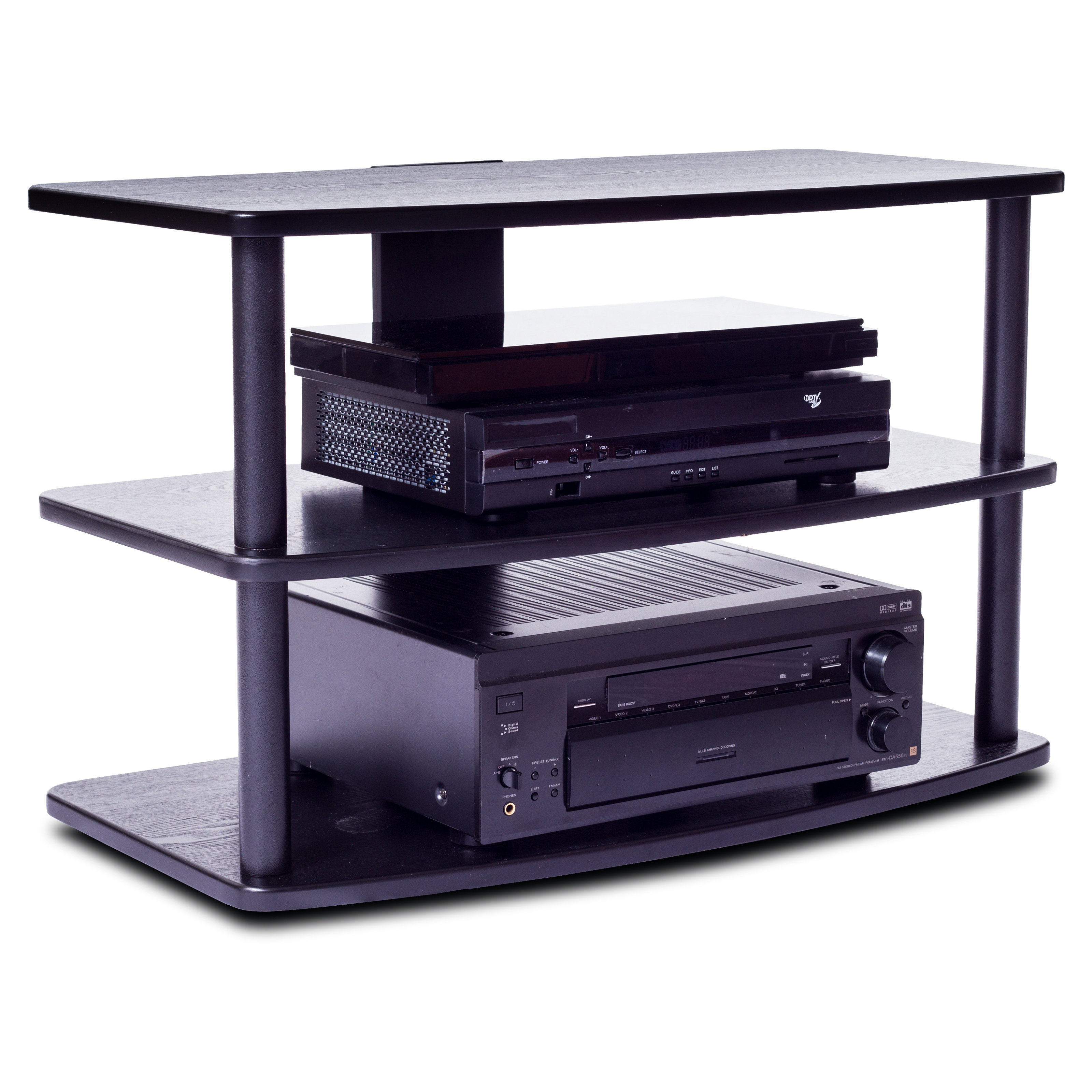 Plateau SF-3V 32 Inch TV Stand in Black