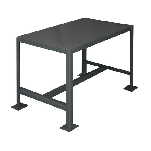 "Durham MT244842-2K195 Steel Work Table, 48"" W"