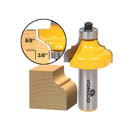 Classical Ogee Edging and Molding Router Bit Medium - 1/2