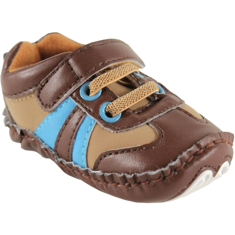 Luvable Friends Newborn Baby Boy Explorer Sneakers