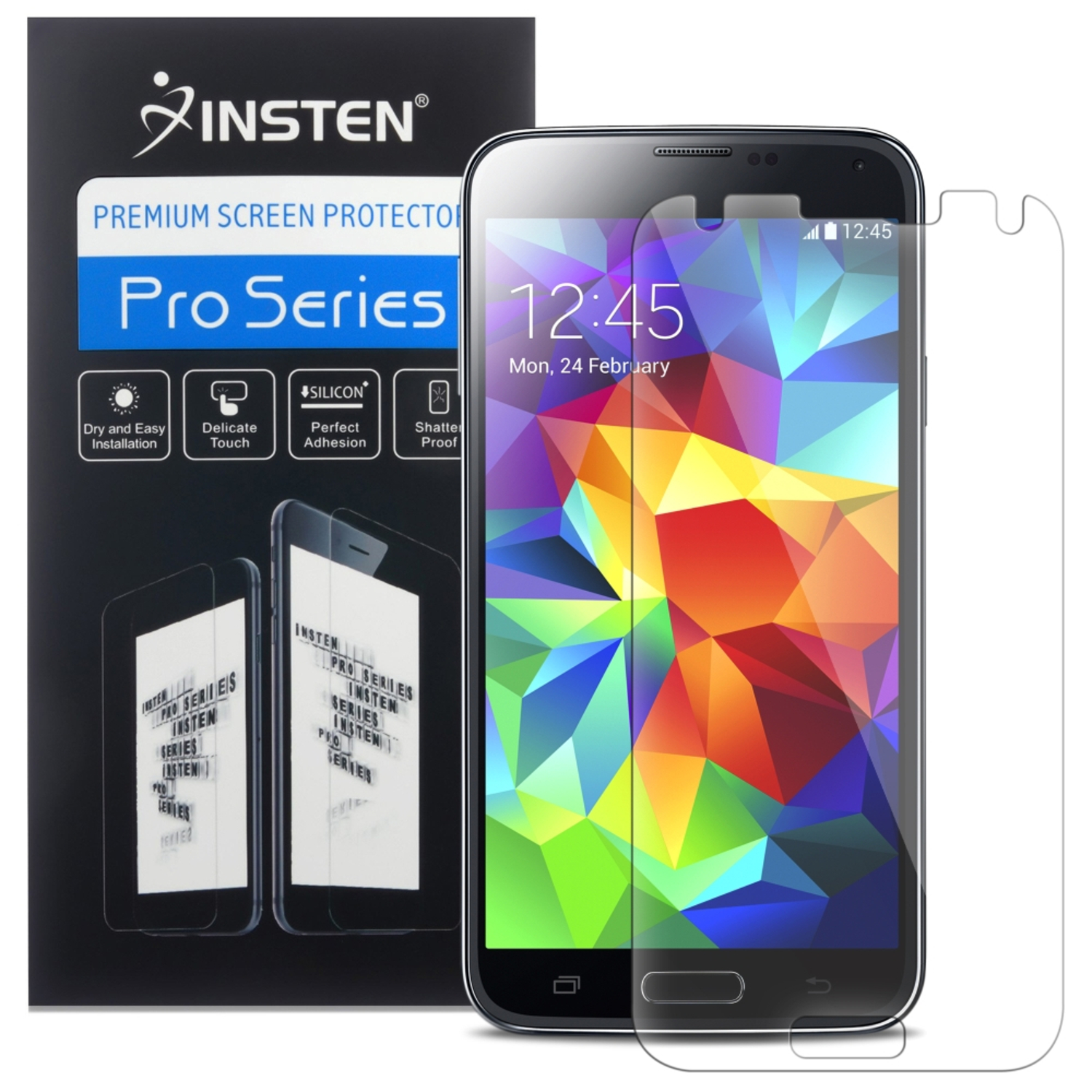 Insten 3x HD Clear LCD Screen Protector Film Guard Shield Cover For Samsung Galaxy S5 SV S V G900