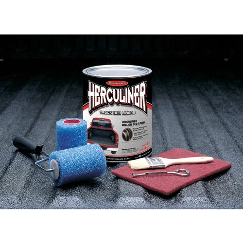 Herculiner Truck Bed Liner Kit, Gray