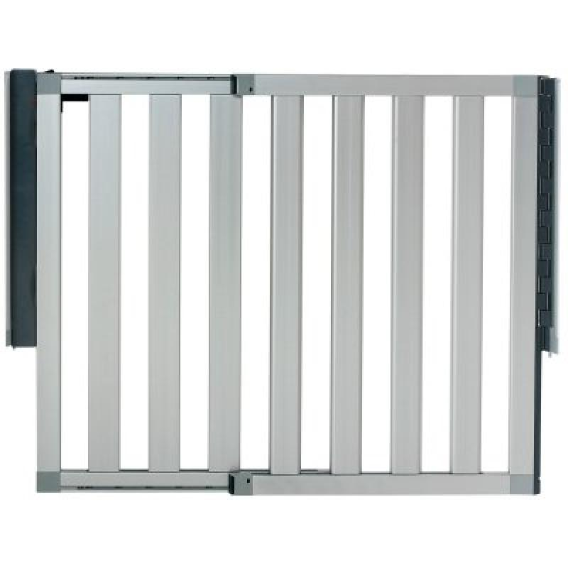 Munchkin Loft Aluminum Infant Safety Gate, Silver by Munchkin