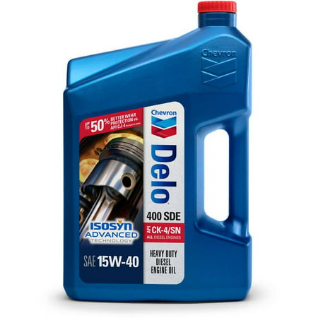 Chevron delo 400 sde sae 15w 40 1 gallon for How to get motor oil out of jeans