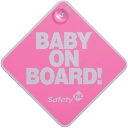 Safety 1st ® Baby On Board Sign
