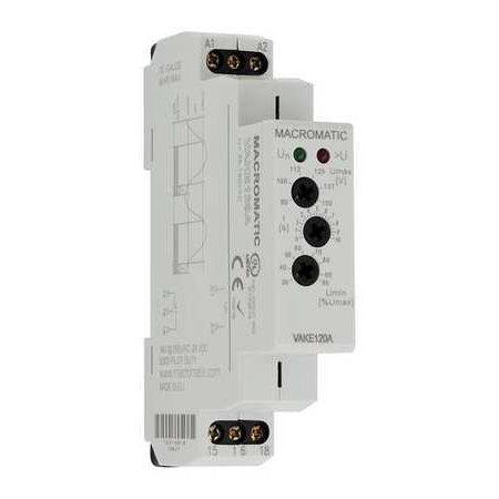 (Macromatic VWKE240A SPDT Voltage Sensing Relay, 240VAC)