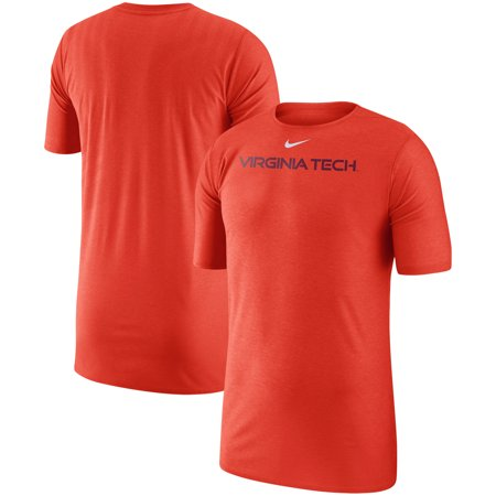Virginia Tech Hokies Nike 2018 Sideline Player Performance Top - Orange (Nike Tech Core)