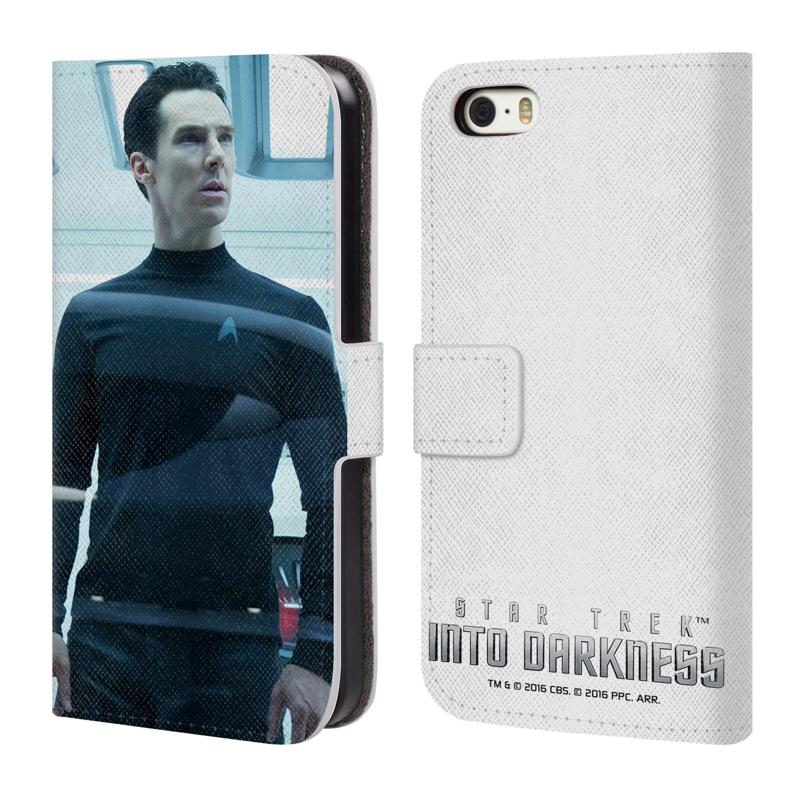 OFFICIAL STAR TREK MOVIE STILLS INTO DARKNESS XII LEATHER BOOK WALLET CASE COVER FOR APPLE IPHONE PHONES