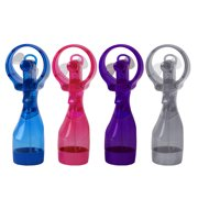 O2COOL 3.5 inch Battery Powered Misting Fan for Personal Cooling, Random Color