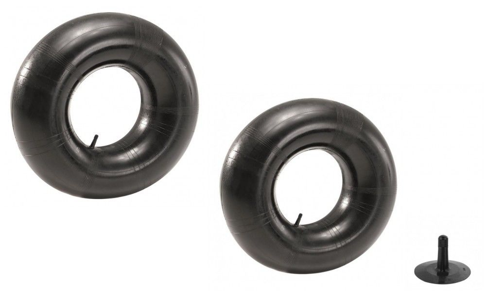 (2) New TIRE INNER TUBES 15x6x6 TR13 Straight Valve Stem for Western Snow Blower by The ROP Shop by The ROP Shop