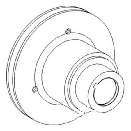 Crankshaft Pulley, New, Massey Ferguson, 734628M1