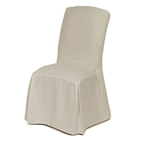 classic slipcovers cotton duck long dining chair cover