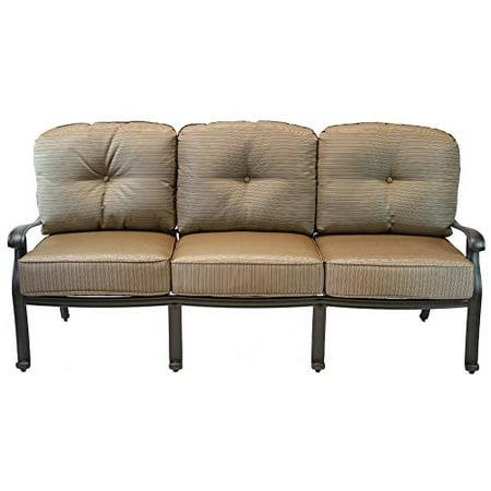 Elisabeth Cast Aluminum Sofa