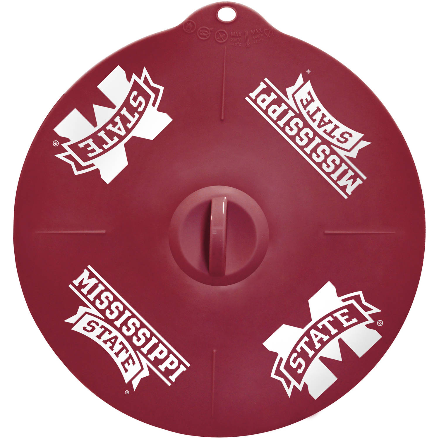 NCAA Mississippi State Bulldogs Silicone Lid