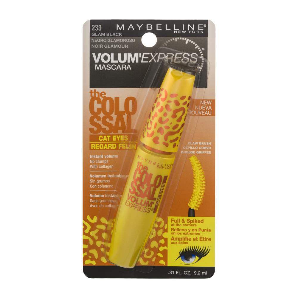 Maybelline New York Volum' Express The Colossal Cat Eyes Washable Mascara