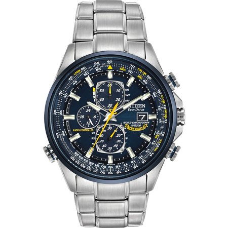 Eco-Drive Blue Angels Chronograph Atomic Men's Watch,