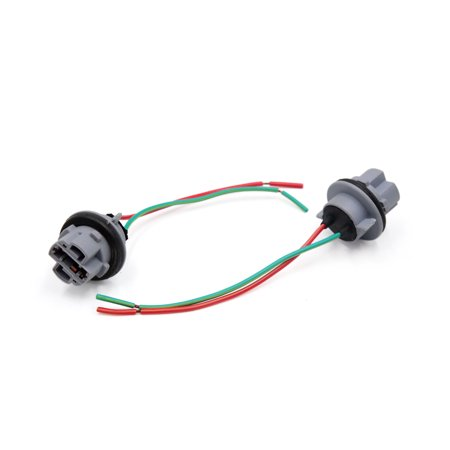 Prime 2Pcs 7440 T20 W21W Socket Wiring Harness For Car Backup Turn Signal Wiring 101 Tzicihahutechinfo
