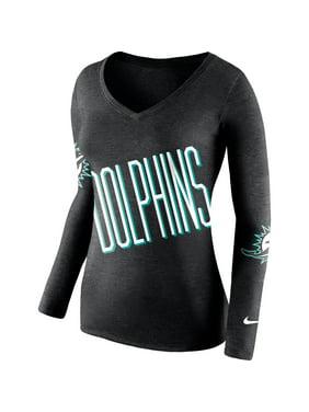 b40acc7b Product Image Miami Dolphins Nike Women's Champ Drive 2 Long Sleeve T-Shirt  - Black