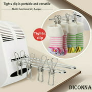 500W Portable Electric Clothes Dryer Heater Rack Air Drying Machine