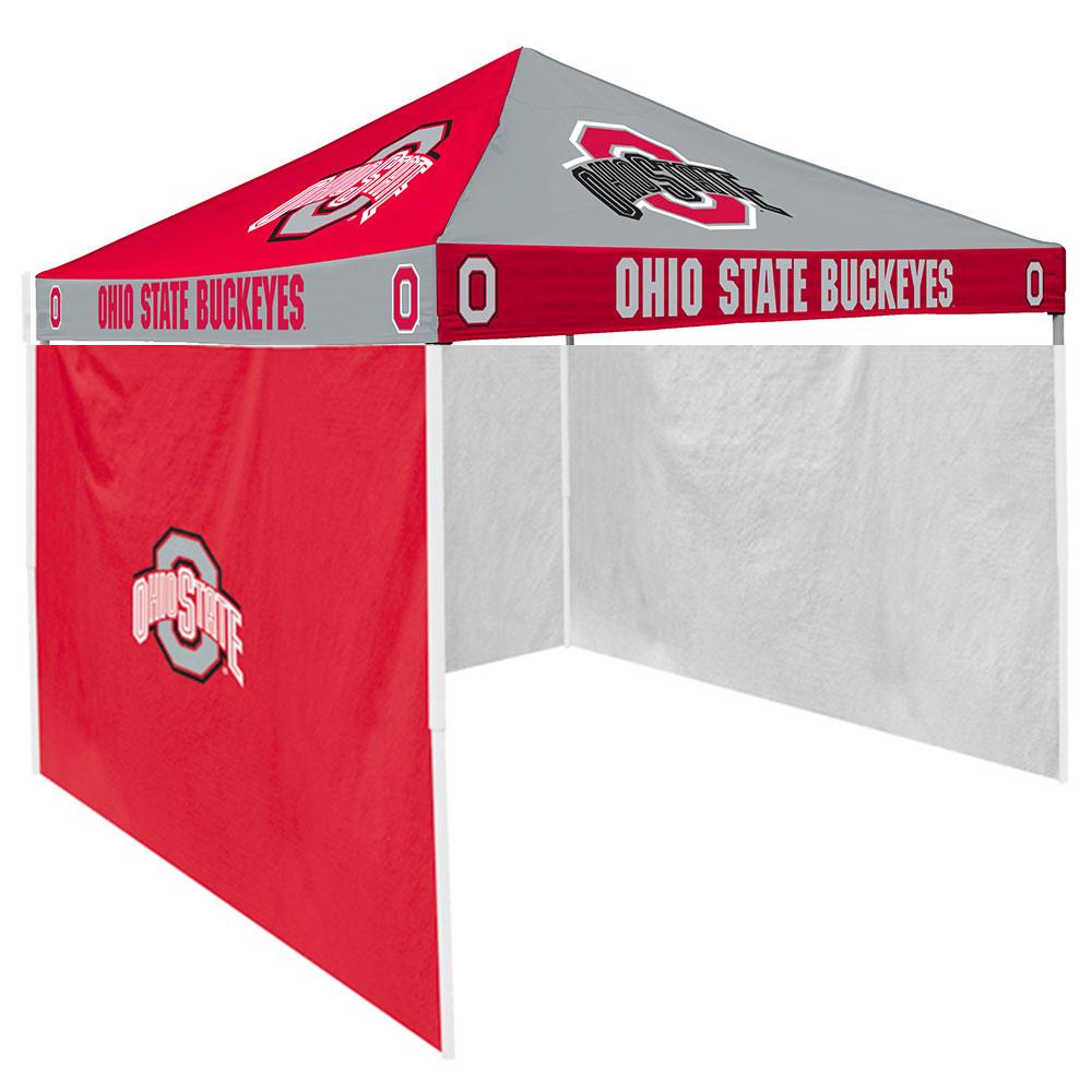 Logo Chairs Ohio State Buckeyes NCAA 9' x 9' Checkerboard...