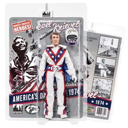 Evel Knievel Costume Toddler (Evel Knievel 8 Inch Action Figures Series 1 Re-Issue: White)