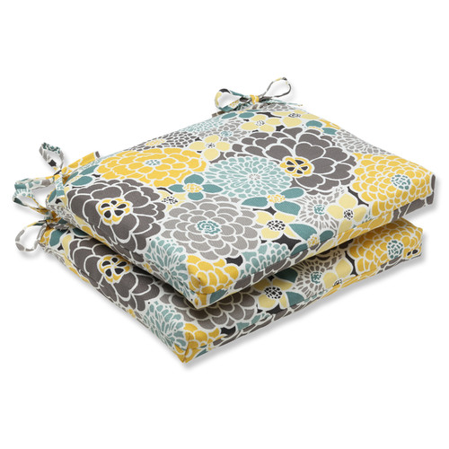 August Grove Gillette Indoor Outdoor Dining Chair Cushion (Set of 2) by