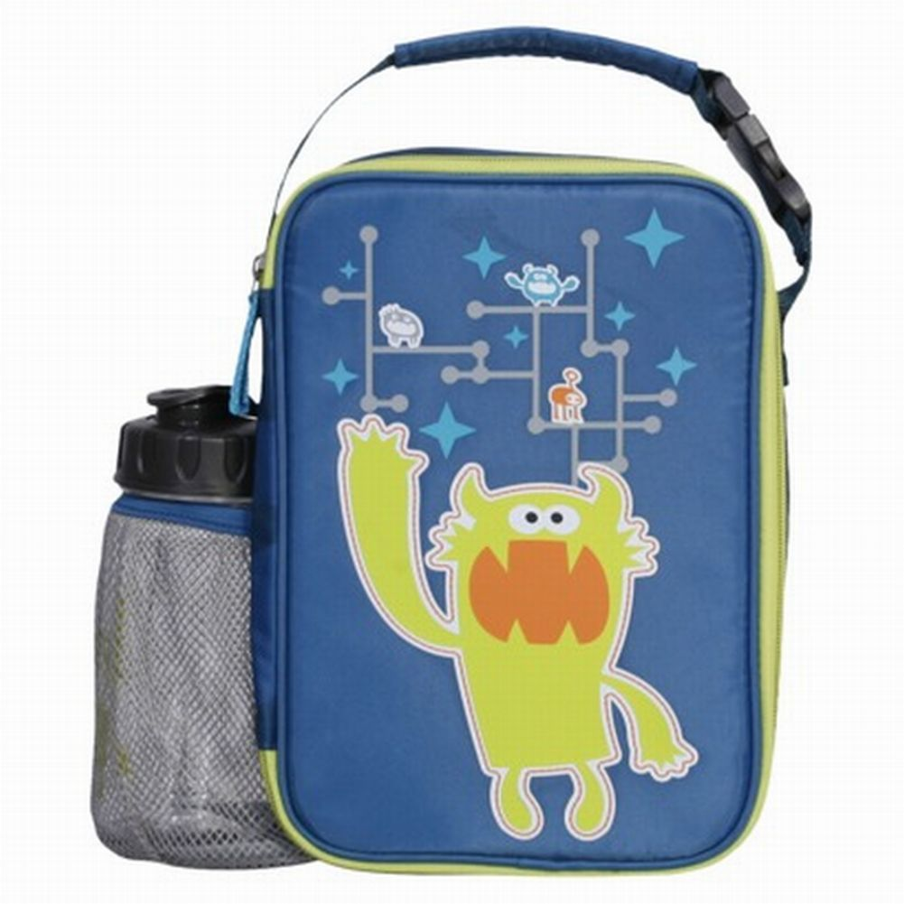 Circo Blue Pet Pals Soft Lunch Box & Water Bottle Insulated Lunch Bag Lunchbox