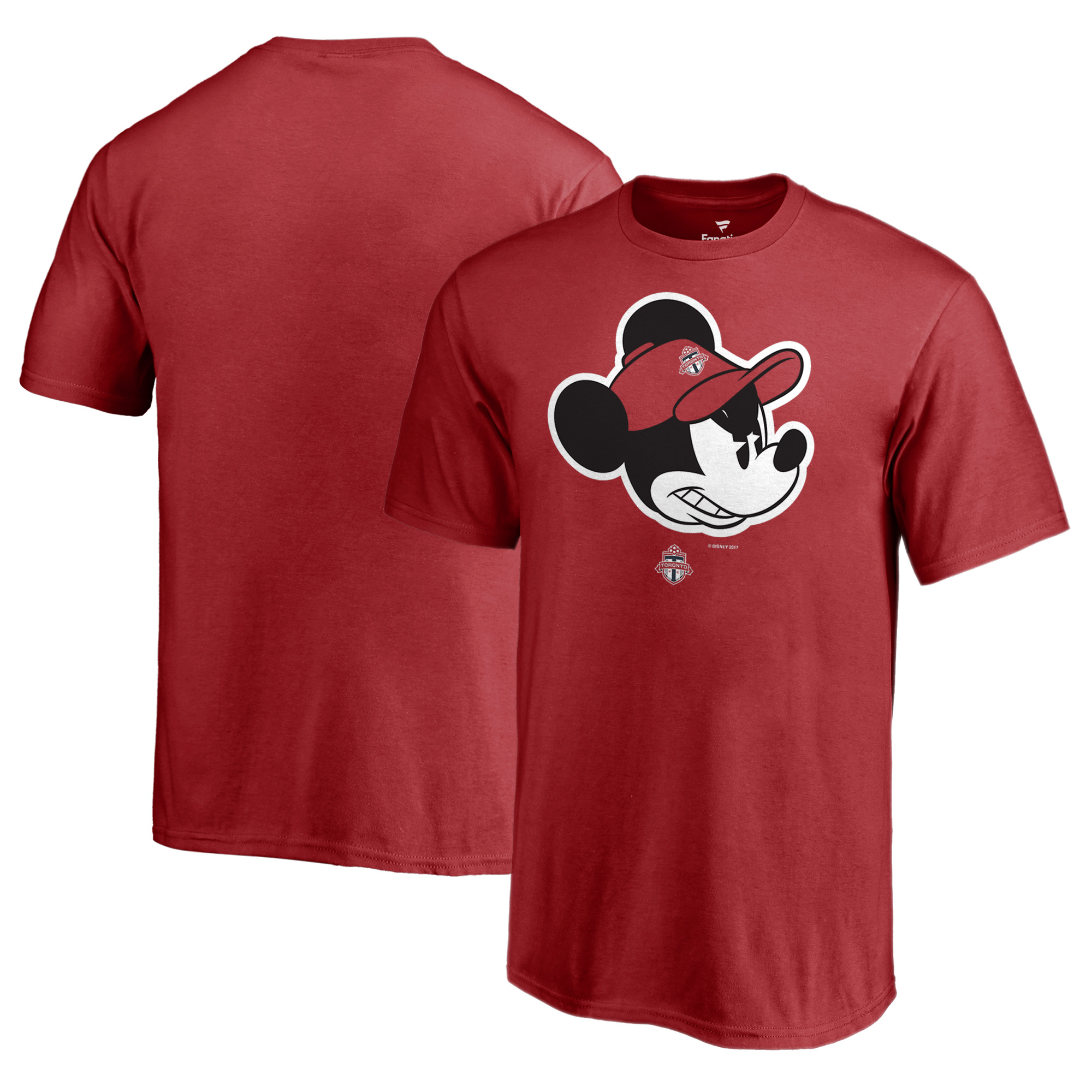 Toronto FC Fanatics Branded Youth Disney Game Face T-Shirt - Red