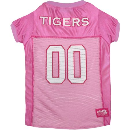 info for 50ca1 84b3c Pets First College Clemson Tigers Pet Pink Jersey, 4 Sizes Available