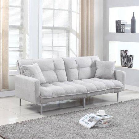 Latitude Run Winslow Modern Tufted Sofa Bed, Multiple Colors