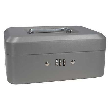 BARSKA CB11784 Cash Box,Compartments 4,2-1 4 in. H G4477667 by Barska