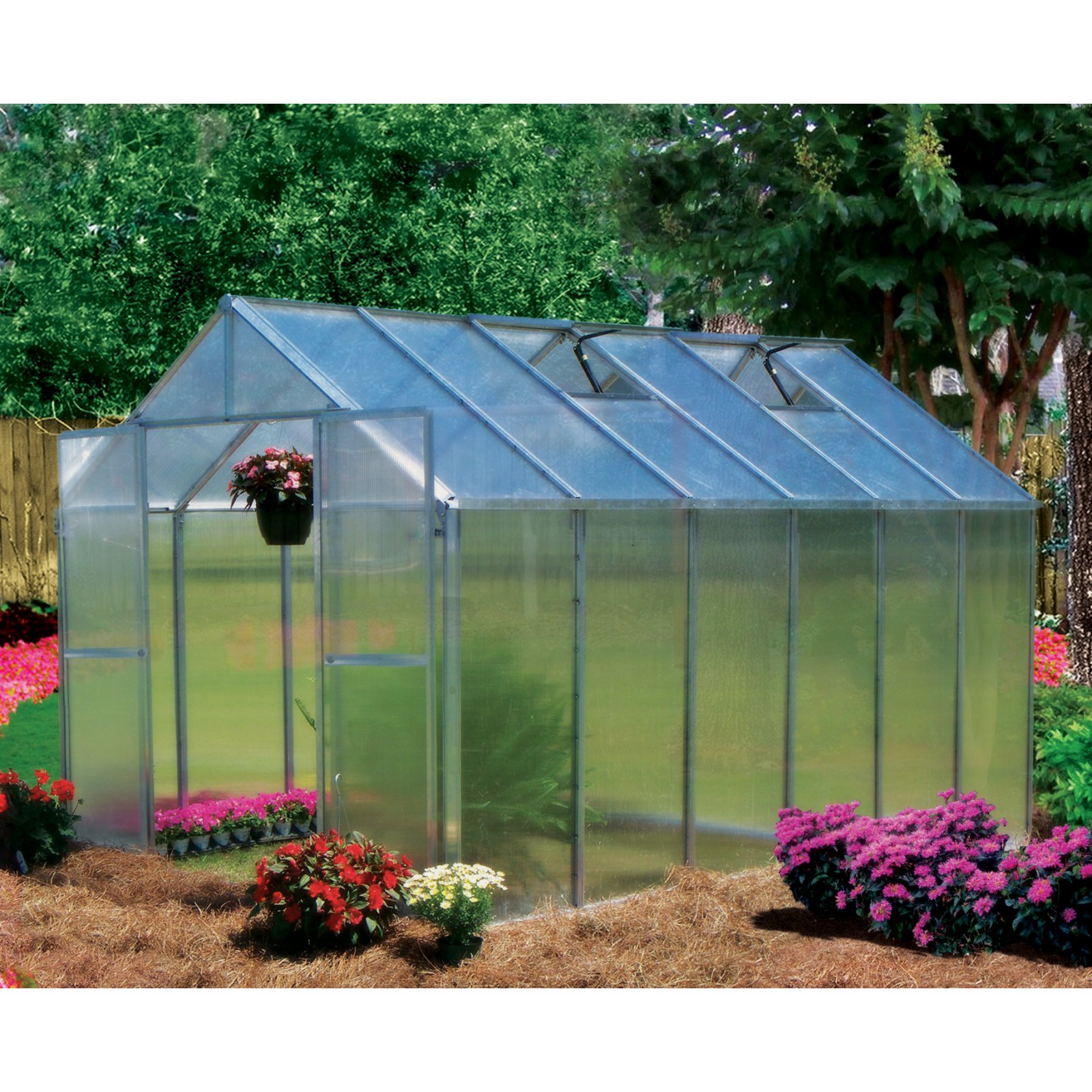 Riverstone Industries Monticello 8 x 12 ft. Premium Green...