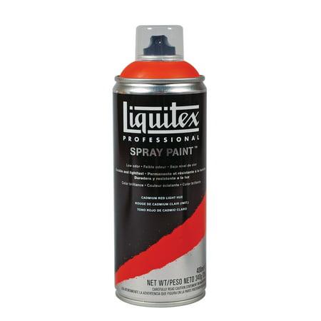 Liquitex Professional Spray Paint, 400ml, Cadmium Red Light Hue