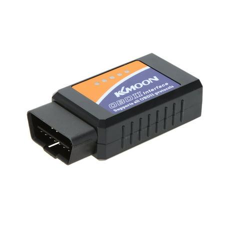 KKmoon ELM327 V2.1 OBD2 II Bluetooth Diagnostic Car Auto Interface Scanner