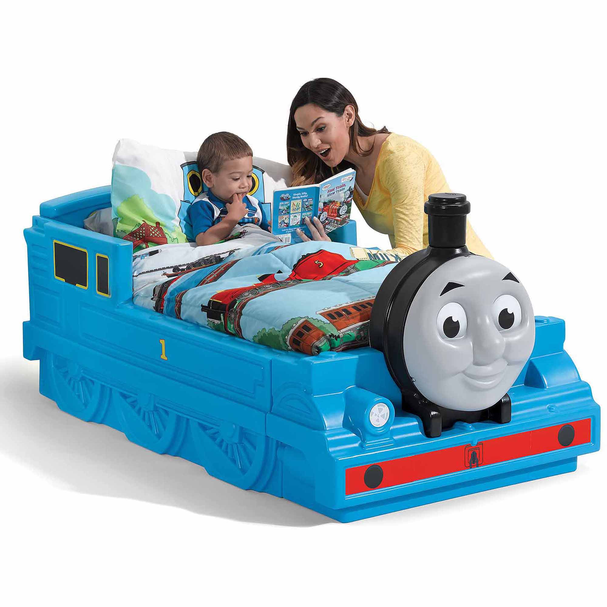 Thomas The Tank Engine Toddler Bed With Storage   Walmart.com