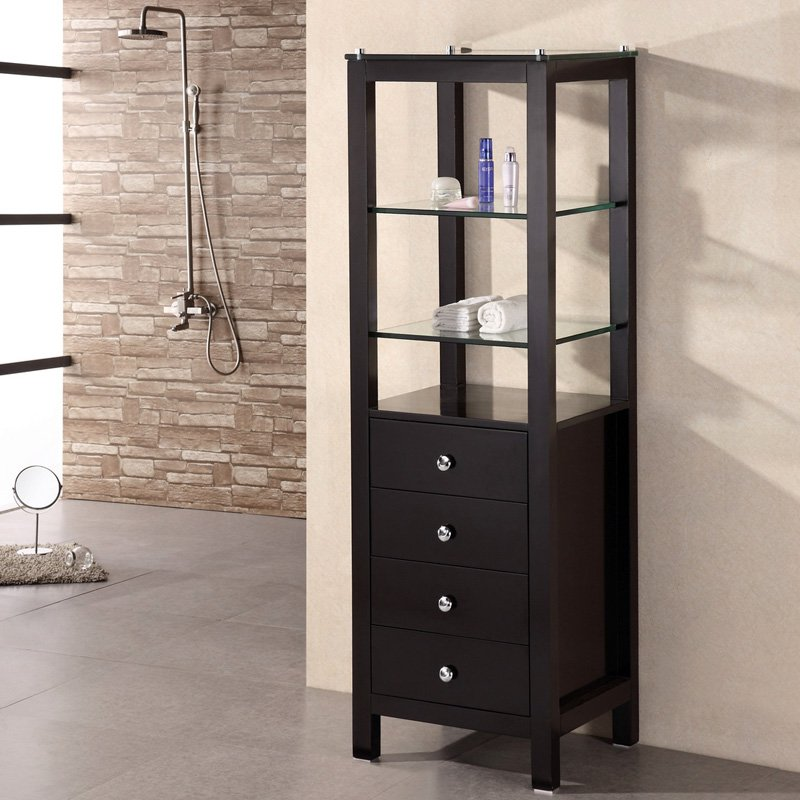 Design Element Baltimore 60-in. Linen Cabinet