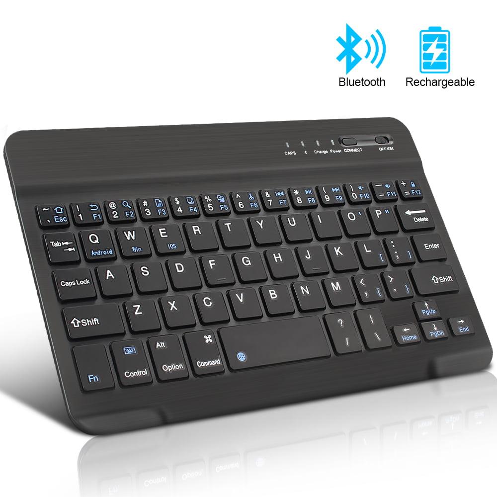 BHGFCGYUH Computer Peripherals Bluetooth Wireless Keyboard Bluetooth Keyboard Mouse Mini Keyboard