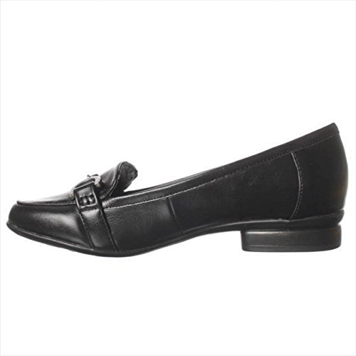 Lifestride Elegant Flat Loafers Black by LifeStride