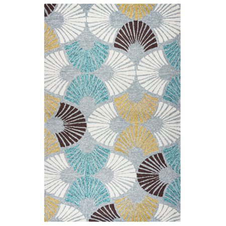 Rizzy Home Azzura Hill Ah9668 00 / Gray Area Rug 5 Feet X 7 Feet 6 (1 Metre 80 In Feet And Inches)