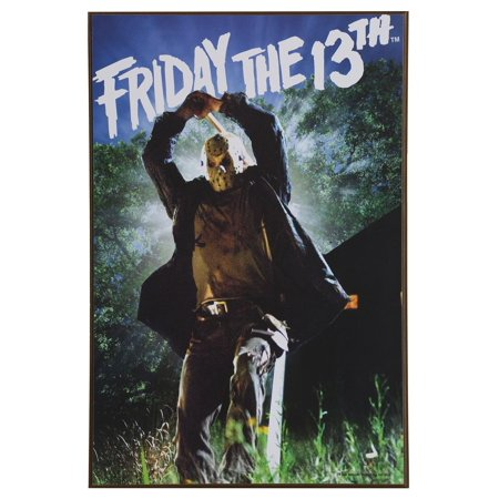 Friday the 13th Wood Wall Décor Art Size 13