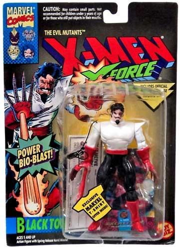 Marvel The Uncanny X-Men X-Force Black Tom Action Figure by Toy Biz