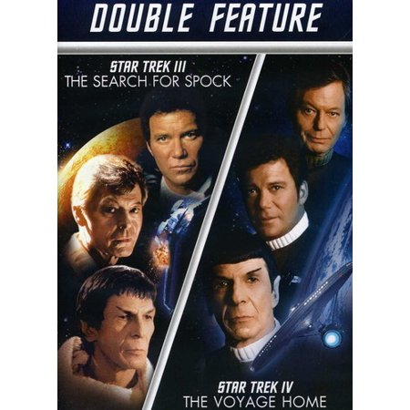Star Trek III: The Search For Spock / Star Trek IV: The Voyage Home (Star Trek Iv The Voyage Home Putlocker)