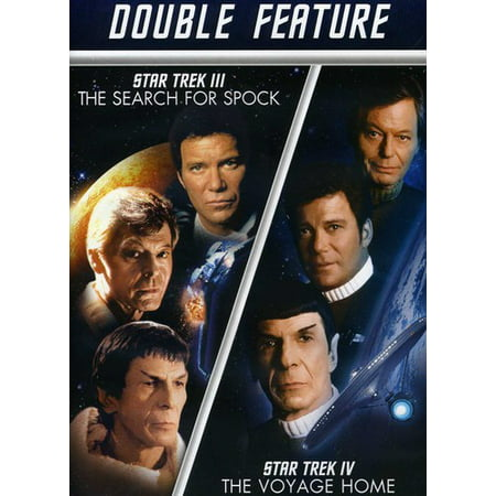 Star Trek III: The Search For Spock / Star Trek IV: The Voyage Home (DVD) ()