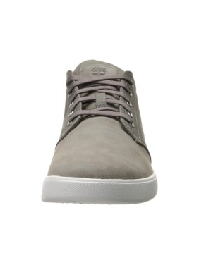 Men's Timberland Groveton Plain Toe Leather and Fabric Chukka