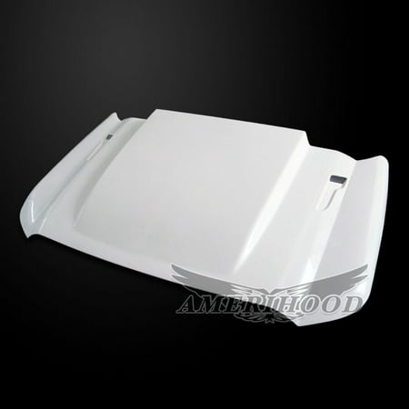 Ford F-450 2011-2016 Type Cowl 3 Inch Style Functional Heat Extraction Ram Air Hood