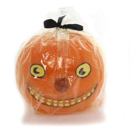 Halloween JACK O LANTERN CANDLE Wax Pumpkin Ta209](Halloween Jack O Lantern Tradition)