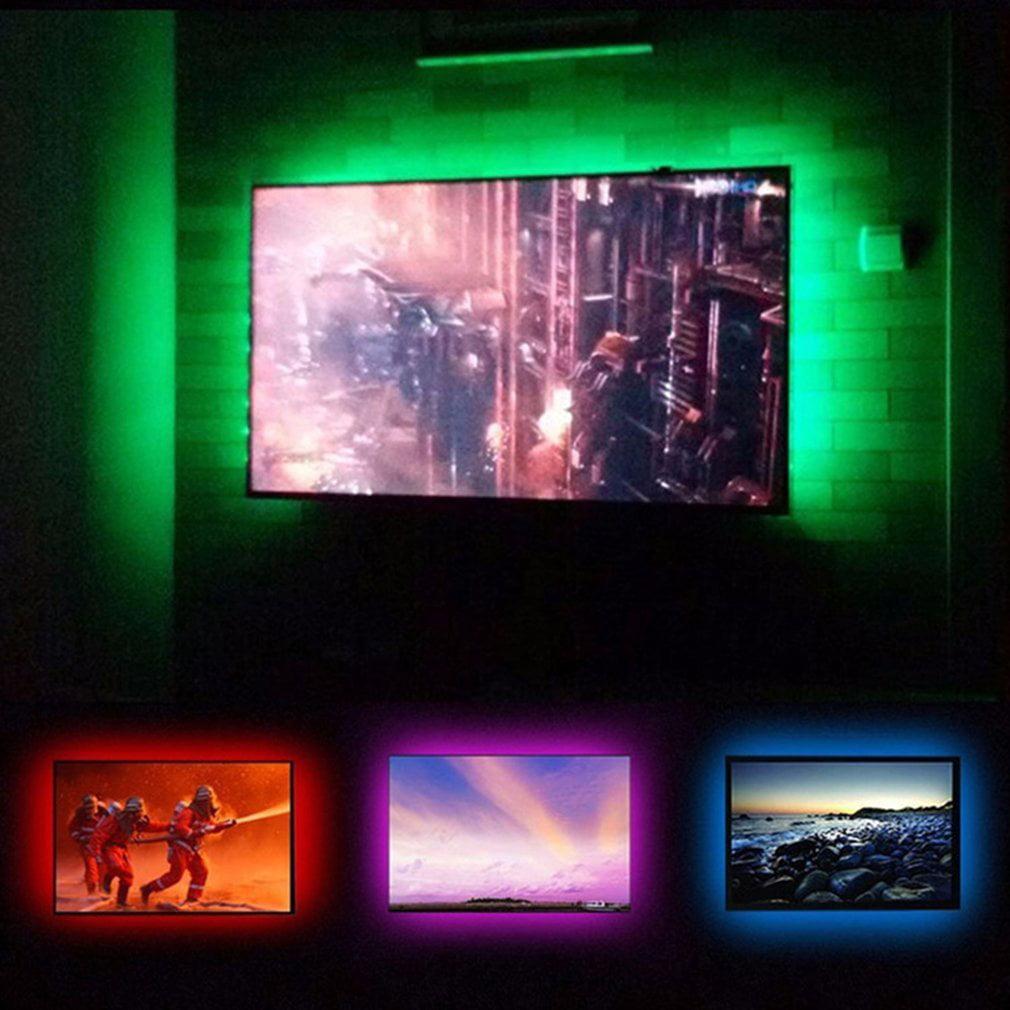 Usb Flexible Cuttable Led String Light 5050 Rgb Waterproof Tv