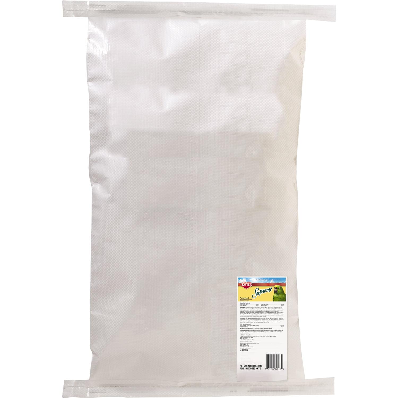 Kaytee Supreme Bird Food for Parrots 25-lb bag