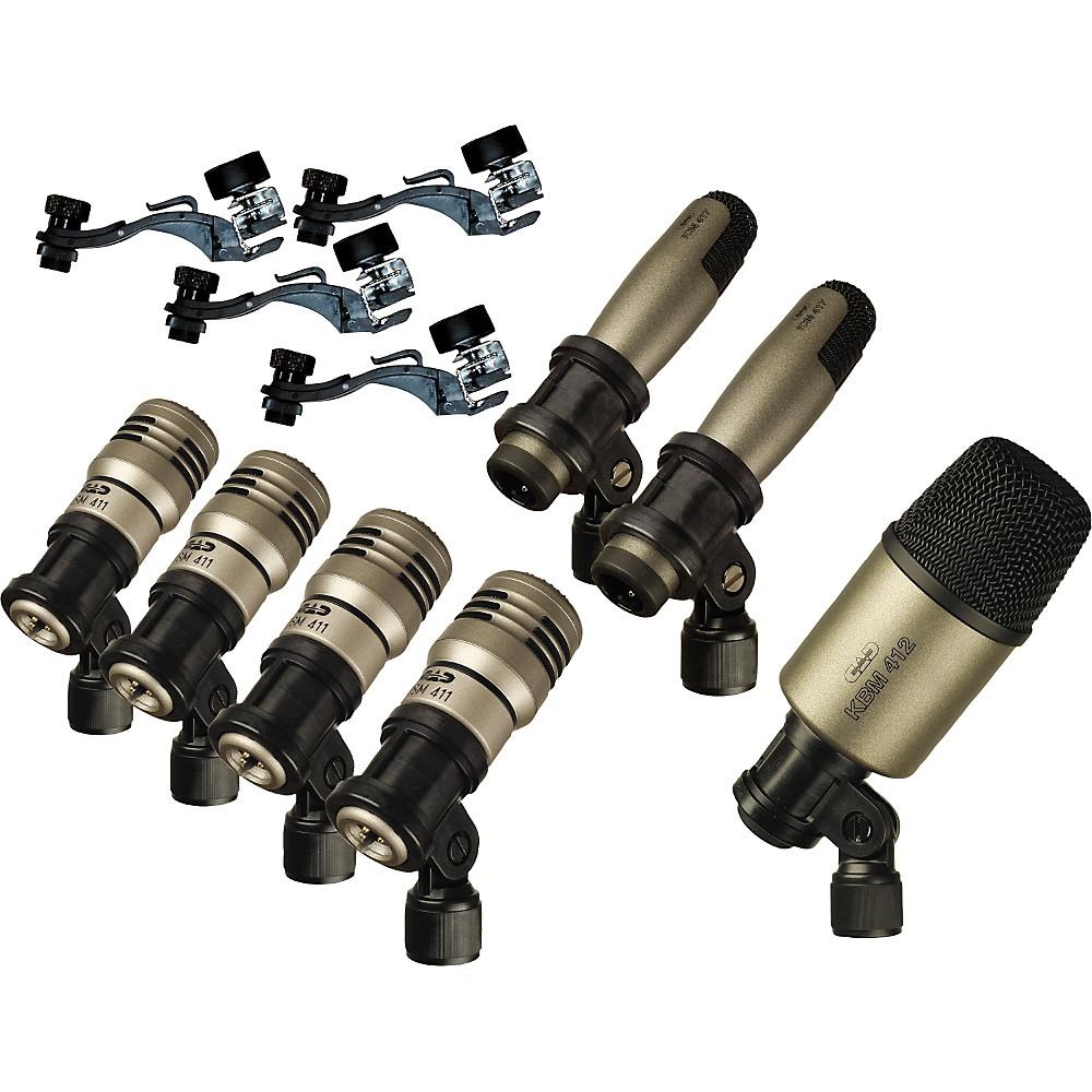 CAD Premium 7-Piece Drum Microphone Kit by CAD
