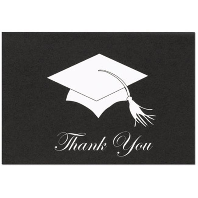 Image Shop 100700 Grad Hat Thank You Note Card